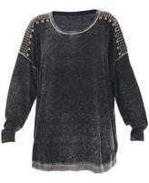Trussardi Over Viscose Blend Sweater