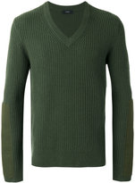 Joseph patch detail jumper - men - Cashmere - S