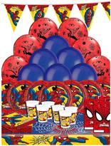 Spiderman Party Kit For 16