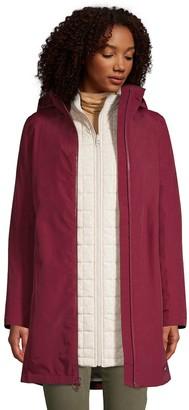 Lands' End Petite Squall 3 in 1 Waterproof Winter Long Coat with Hood
