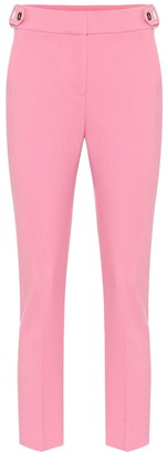 Veronica Beard Gamila high-rise slim pants