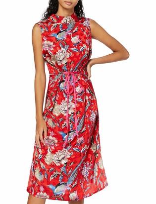 Find. Amazon Brand Women's Midi Chiffon Dress