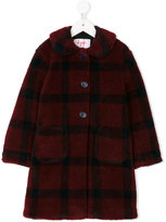 Il Gufo checked coat