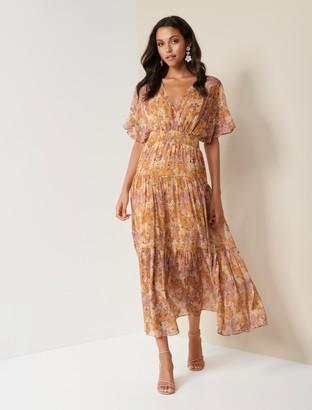Forever New Darla Tiered Maxi Dress - Meadow Garden - 10