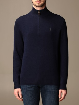 Polo Ralph Lauren Cardigan In Wool And Cashmere