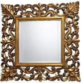 Lazy Susan Square Decorative Wall Mirror Gold