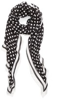 Kate Spade Women's Polka Dot Oblong Scarf