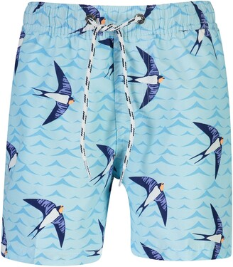 Snapper Rock Kids' Taking Flight Swim Trunks