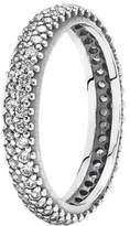 Pandora Pearl Cubic Zirconia Silver Ring - Size L 190909CZ-52