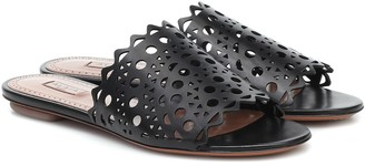 Alaia Leather sandals