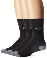 Oakley Men's Performance Basic Crew Socks 3Pk