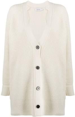 Calvin Klein chunky knit V-neck cardigan