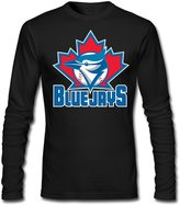 Sarah Men's Toronto Blue Jays Long Sleeve T-shirt XXL