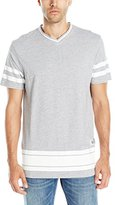 Burnside Men's Unbroken Knit V Neck Fashion Tee