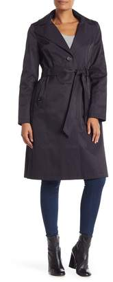 Via Spiga Hooded Trench Coat