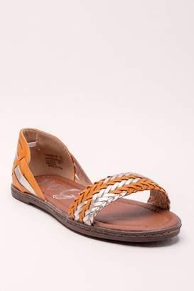 Very G Braided Sandal - Tan