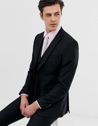 French Connection slim fit plain suit jacket