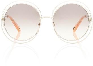 Chloã© Carlina round sunglasses