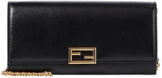 Fendi Way Wallet leather shoulder bag