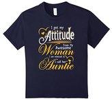 Men's I got my attitude woman Auntie onesie mother's day gifts Medium