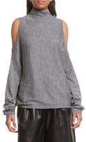 Robert Rodriguez Women's Cold Shoulder Merino Wool Sweater