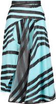 Roksanda Clementine lamé-embroidered mesh midi skirt
