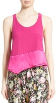 3.1 Phillip Lim Women's Layered Silk Tank
