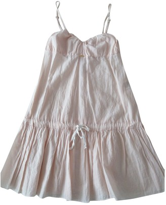 Cycle Pink Cotton Dress for Women