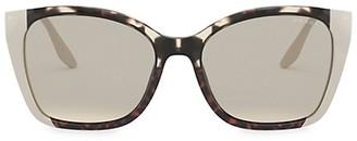 Prada 54MM Two-Tone Cat Eye Sunglasses