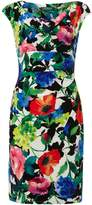 Lauren Ralph Lauren Printed cowl neck dress