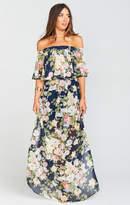 MUMU Hacienda Maxi Dress ~ Party Blossom