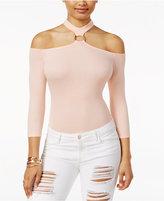 GUESS Ari Off-The-Shoulder Choker Bodysuit