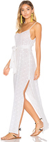She Made Me Belted Slip Dress in White. - size M/L (also in )