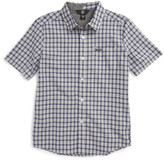 Volcom Arthur Check Woven Shirt (Toddler & Little Boys)