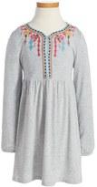 Design History Embroidered Dress (Toddler Girls & Little Girls)