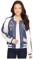 Double D Ranchwear - Indian Head Souvenir Jacket Women's Coat