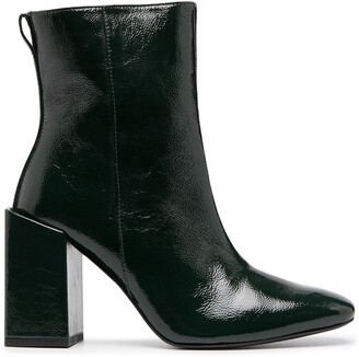 AMI Paris Heeled Ankle Boots