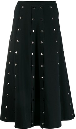 Christopher Kane Snap Crepe Skirt