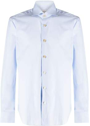 Kiton textured formal shirt