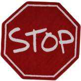 Fun Rugs Fun Time Stop Sign Rug