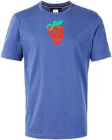 Paul Smith strawberry skull print T-shirt - men - Cotton - M