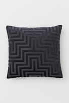 H&M Velvet Cushion Cover - Gray