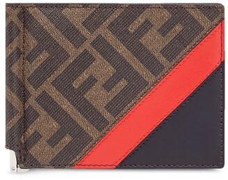 Fendi FF motif bi-fold wallet