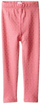 Mud Pie Pink & Gold Dot Leggings (Infant/Toddler)