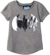 Junk Food Clothing Batman Logo Tee (Toddler Girls)