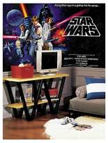 Star Wars RoomMates Classic Chair Rail Prepasted Mural 6' x 10.5' - Ultra-strippable