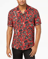 Just Cavalli Men's Floral-Print Shirt