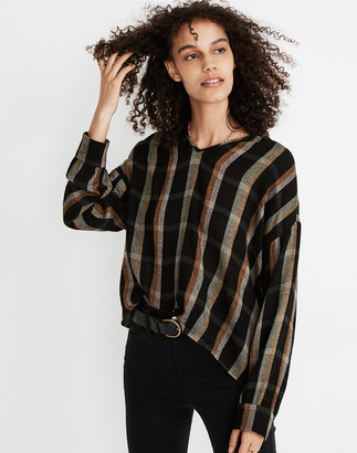 Madewell Highroad Popover Shirt in Lessing Plaid