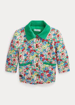 Ralph Lauren Floral Quilted Barn Jacket
