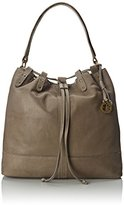 Lucky Brand Carly Leather Bucket Shoulder Bag